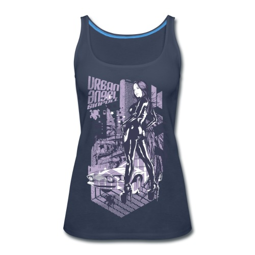 Urban Angel Tank Top - Women's Premium Tank Top