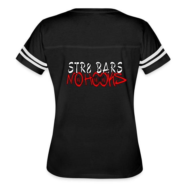 """The C2D """"Str8 Bars No Hooks"""" Womens Jersey Shirt"""
