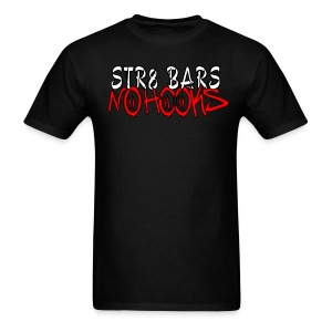 C2D Str8 Bars No Hooks LOGO T-shirt - Men's T-Shirt
