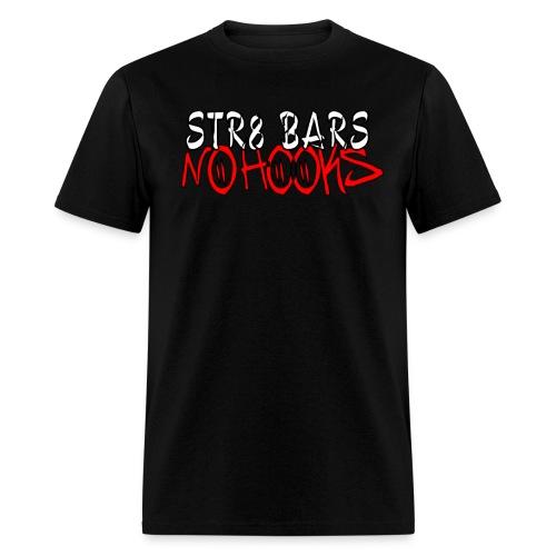 C2D Str8 Bars No Hooks LOGO T-shirt - Men's T-Shirt