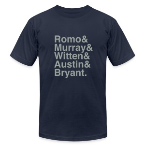 Cowboys 12-13 - Men's T-Shirt by American Apparel