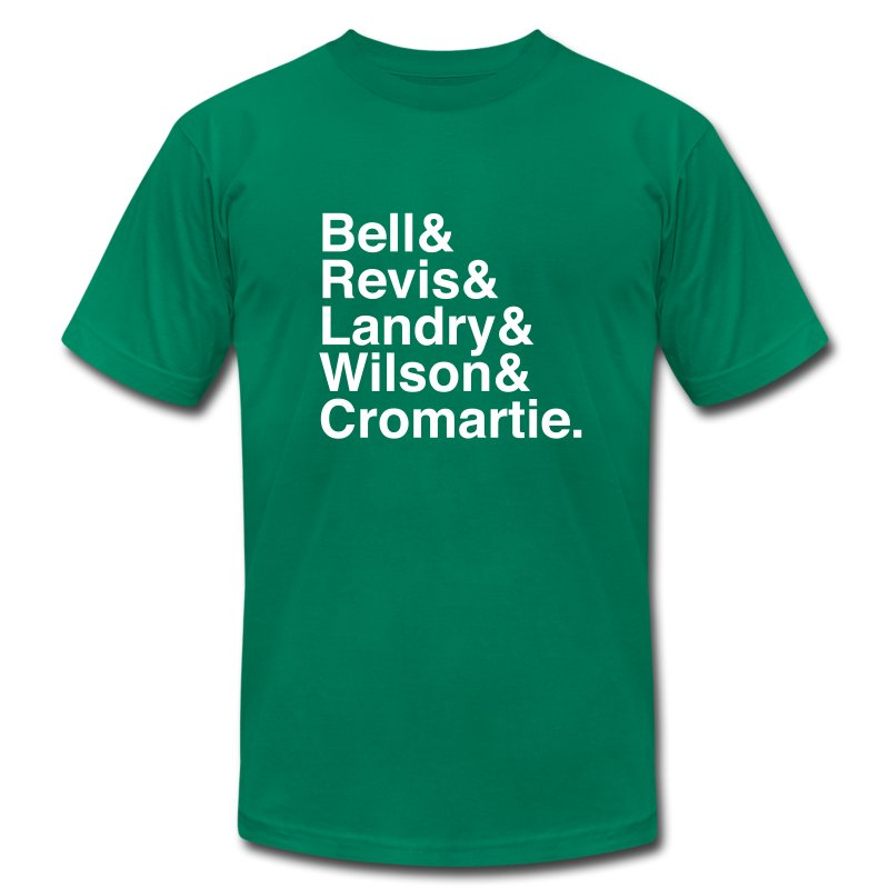 New York Jets Secondary - Men's T-Shirt by American Apparel