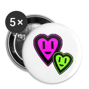 Heart - Small Buttons