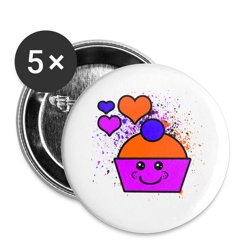 Cupcake - Small Buttons