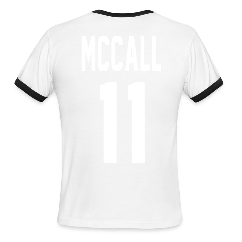 McCall (11) - Men's Ringer T-Shirt