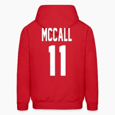 McCall 11 front Hoodies
