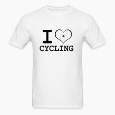 Men's I Heart Cycling T-Shirt