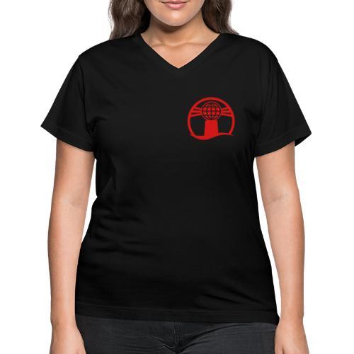 Weatherball - Women's V-Neck T-Shirt