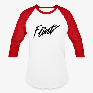 Flint Retro - Baseball T-Shirt