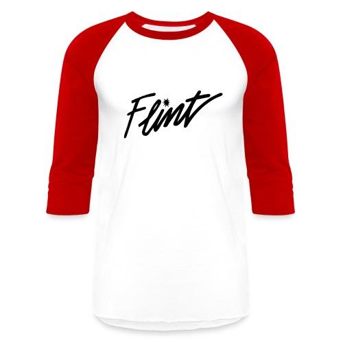 Flint Retro - Baseball T-Shirt