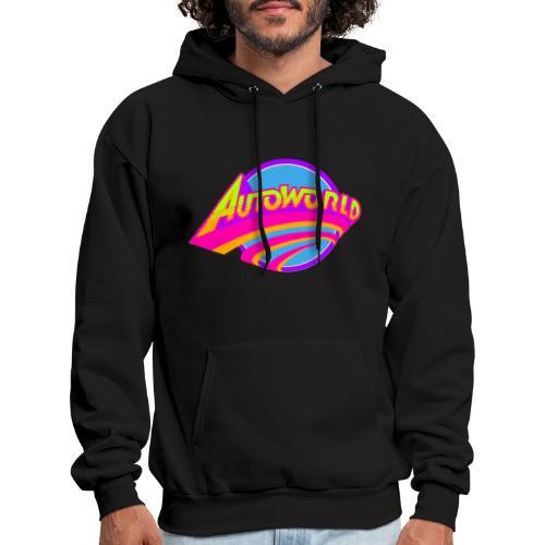 Autoworld (Neon) - Men's Hoodie