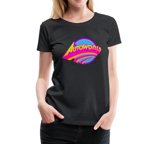 Autoworld (Neon) - Women's Premium T-Shirt