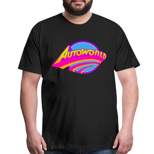 Autoworld (Neon) - Men's Premium T-Shirt