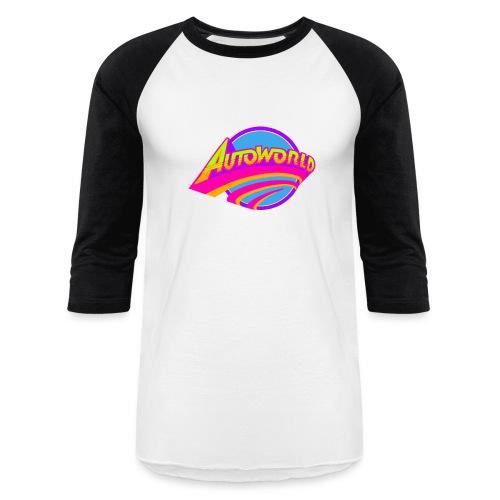 Autoworld (Neon) - Baseball T-Shirt