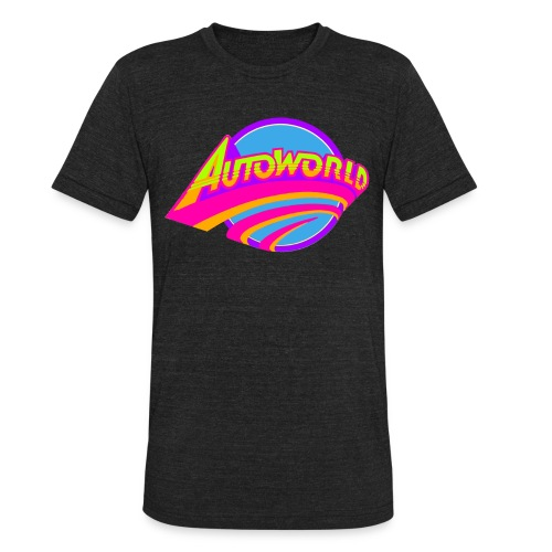 Autoworld (Neon) - Unisex Tri-Blend T-Shirt
