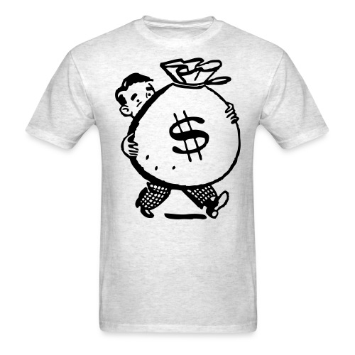 Big Bag of Mony - Men's T-Shirt