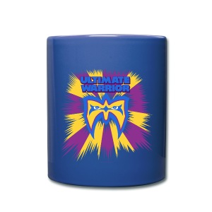 Ultimate Warrior Retro Logo Coffee Mug - Full Color Mug
