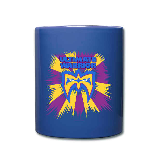 Ultimate Warrior Retro Logo Coffee Mug