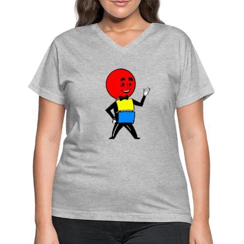 Mr. Weatherball - Women's V-Neck T-Shirt
