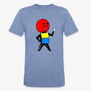 Mr. Weatherball - Unisex Tri-Blend T-Shirt by American Apparel