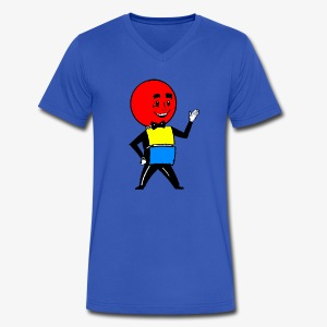 Mr. Weatherball - Men's V-Neck T-Shirt by Canvas