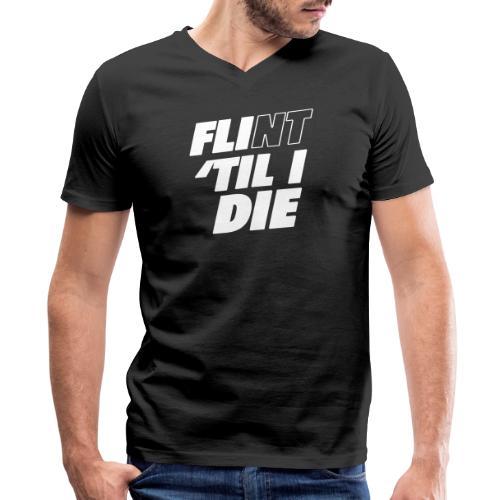 FLI til I Die - Men's V-Neck T-Shirt by Canvas