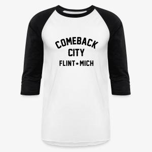 Comeback City - Baseball T-Shirt