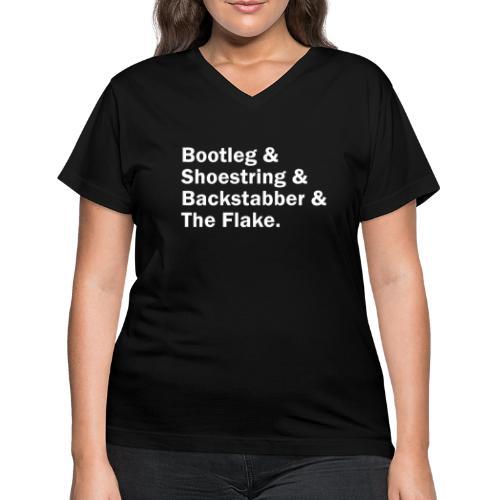 Dayton Ave - Women's V-Neck T-Shirt