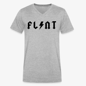 Flint Bolt - Men's V-Neck T-Shirt by Canvas