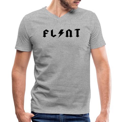 Flint Bolt - Men's V-Neck T-Shirt by Canvas