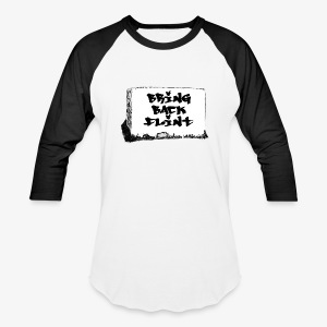 Bring Back Flint - Baseball T-Shirt