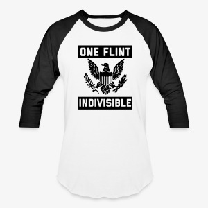 One Flint Indivisible - Baseball T-Shirt