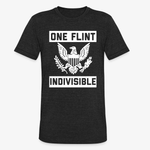One Flint Indivisible - Unisex Tri-Blend T-Shirt by American Apparel