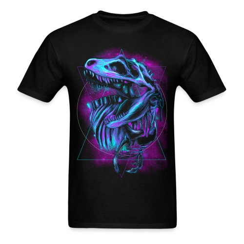 Dinosaur Skeleton T-Shirt - Men's T-Shirt