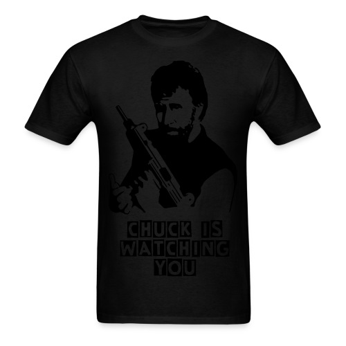 CHUCK IS WATCHING YOU - Men's T-Shirt