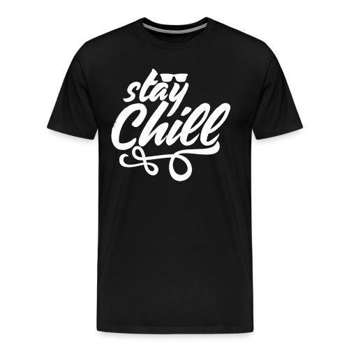 Stay Chill 2 (White Version) - Men's Premium T-Shirt