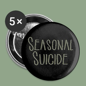 Seasonal Suicide - Logo Button - Small Buttons