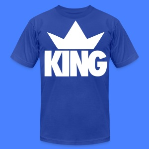 King Crown T-Shirts - stayflyclothing.com - Men's T-Shirt by American Apparel