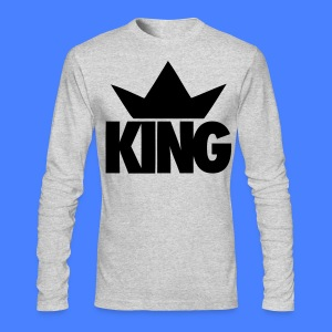 King Crown Long Sleeve Shirts - stayflyclothing.com - Men's Long Sleeve T-Shirt by Next Level