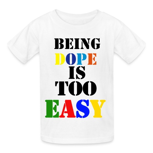 too easyy - Kids' T-Shirt