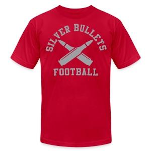 SILVER BULLETS FOOTBALL  - Men's Fine Jersey T-Shirt
