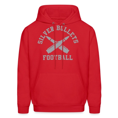 SILVER BULLETS FOOTBALL - Men's Hoodie