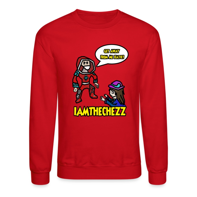 Mens Unhooded Katie Sweatshirt - Crewneck Sweatshirt