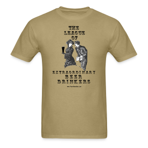 The League Of Extraordinary Beer Drinkers Vintage Men's T-Shirt - Men's T-Shirt
