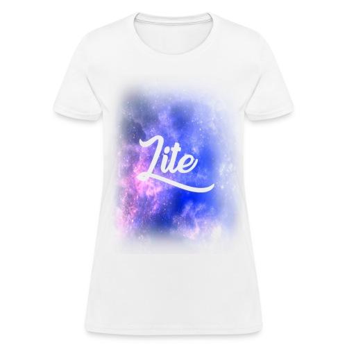 Official Lite Women's Galaxy Fade T-Shirt - Women's T-Shirt