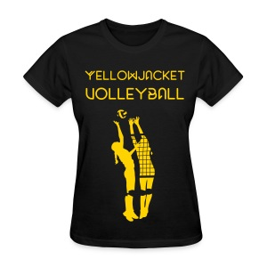 YellowjacketVB - Women's T-Shirt