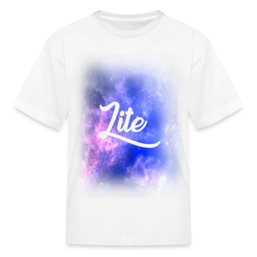 Official Lite Kid's Galaxy Fade T-Shirt - Kids' T-Shirt