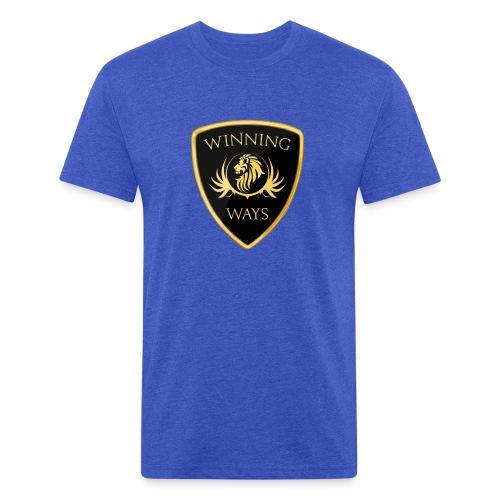 Winning Ways Ambassador 1 (Blue) - MEN'S - Fitted Cotton/Poly T-Shirt by Next Level