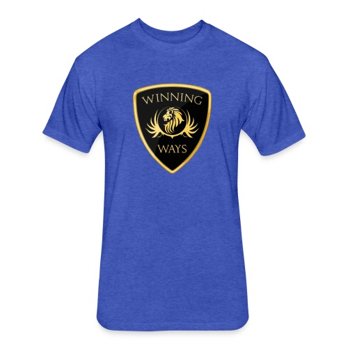 Winning Ways Ambassador 1 (Blue) - MEN'S - Fitted Cotton/Poly T-Shirt by Next Level