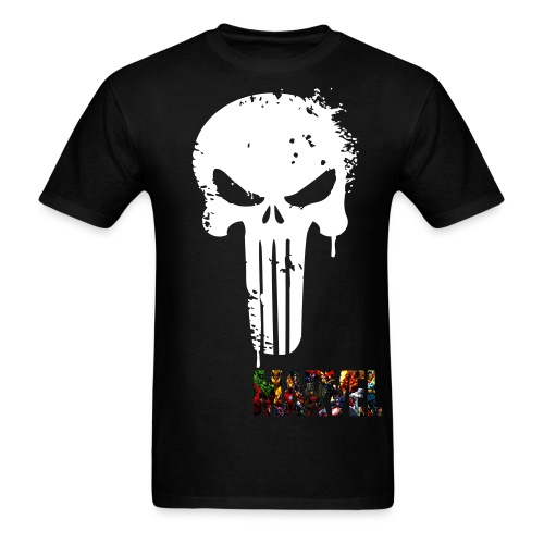 The Punisher T-shirt - Men's T-Shirt